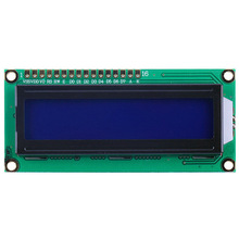 LCD Display For Raspberry PI LCD 1602 Display LCD1602 HD44780 LCD Module 16x2 DIY KIT 5V Blue Screen And White Code For Arduino(China)