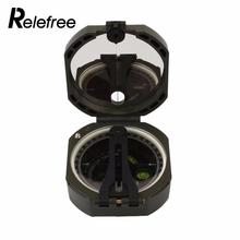 Relefree Professional Compass Lightweight Military Compass Outdoor Survival Cheap Camping Equipment Geological Pocket Compass(China)
