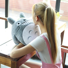 1pc 40cm Anime My Neighbor Totoro Plush Toy Kawaii Stuffed Totoro Pillow Soft Cushion Hand Warm Cute Doll for Kids Children Girl