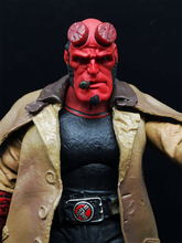 MEZCO Hellboy Movie Version 2.0 Hellboy with Smoke 7inch Collectible Action Figure Bulk Gift