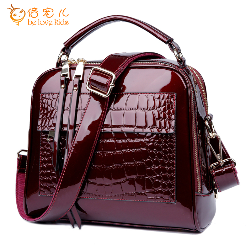 2016 New Women Messenger Bags Genuine Leather Handbags Ladies Fashion Shoulder Bags Bolsas PT598<br>