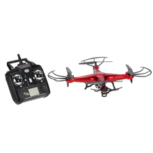 X5C Upgrade Version RC Drone 4CH 6-Axis Remote Control Toys Quadcopter with 2.0MP HD Camera or X5 without Camara RC Quad Drone(China)