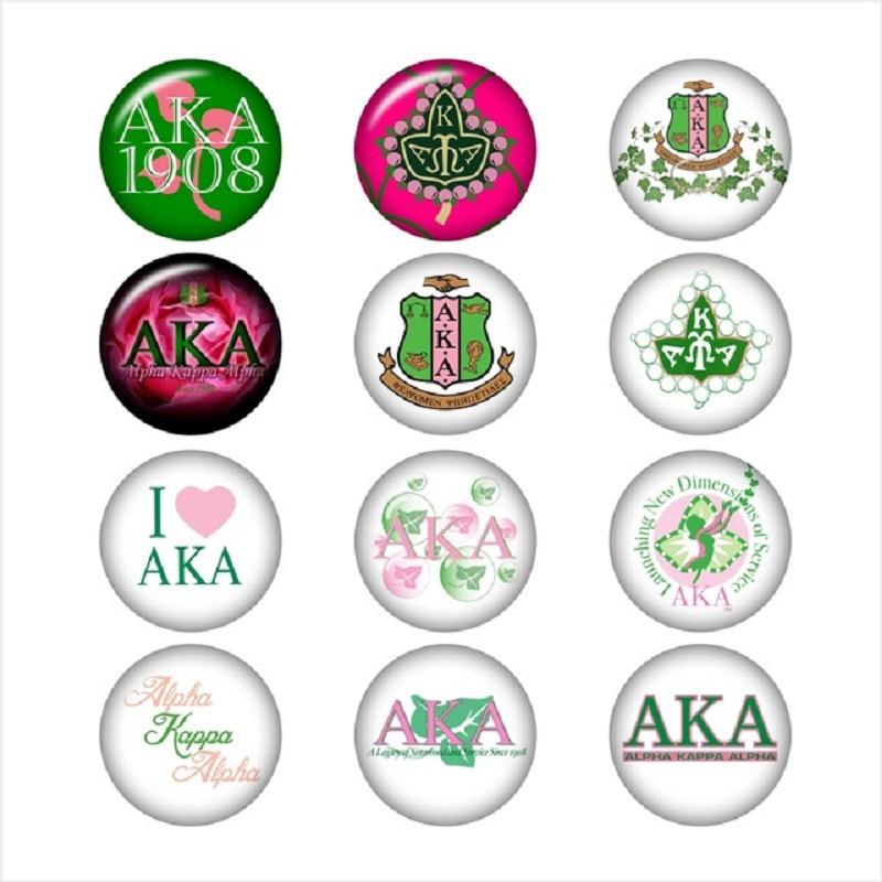 AKA-Alpha-Kappa-Alpha-Sorority-glass-snap-button-for-snaps-jewelry-Round-photo-cabochons-DA1041.jpg_640x640