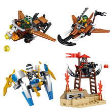 New Phantom Ninja Series Figures Building Blocks Classic Creator Educational LegoINGlys Ninjago Bricks Construction Toys Gift