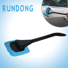Microfiber Windshield Clean Car Auto Wiper Cleaner Glass Window Tool Brush_KXL0620