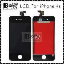 20PCS/LOT For  iPhone 4S Screen Replacement LCD Complete Assembly Tested one by one Free Shipping via DHL (White and Black)
