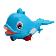 1Pc Plastic Whale Shape Squirting Bath Baby Toddler Bathing Toy Swimming Pool