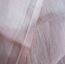 CL11709 Cotton Linen Fabric Washed Crinkle fabric for clothes shirt pink green blue color 140 cm width 2 meters for sample