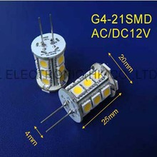 High quality AC/DC12V G4 led Crystal lights LED GU4 bulbs 12VAC G4 led lamps GU4 LED Downlights 12v free shipping 50pcs/lot(China)