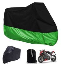 New Motorcycle Covers Waterproof Breathable Outdoor Motorcycle Scooter Rain Coat UV Protective Covering XL/XXL/XXXL(China)