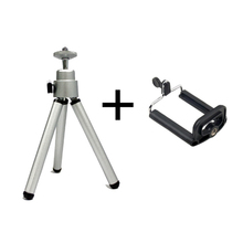 Tripod Clip Stand Bracket Holder Mount Adapter For Gopro Digital Camera Self-Timer Smart phone For iphone xiaomi Mobile Phone