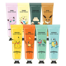 Best Korea Cosmetics Pokemon Hand Cream 30ml (Pokemon Edition) 8 Type for choice Moisturizing Whitening Hand Care(China)