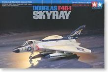 Tamiya assembled aircraft model 60741 1/72 American F4D-1 Skyray fighter