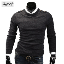 2017 new business casual men's head tide sweaters 7528