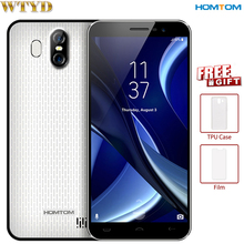 HOMTOM S16 RAM 2GB+ROM 16GB Dual Back Cameras Fingerprint Identification 5.5'' Android 7.0 MTK6580 Quad Core up to 1.3GHz OTA(China)