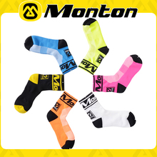 Monton Scok 2Pairs Coolmax High Quality Men Sport Cycling Socks Women Muscle Bicycle Socks Breathble Sportswear & Accessories