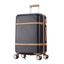 "Hardside Rolling Luggage Suitcase 20"" Carry On 22"" 24"" Checked Luggage Aluminum Frame PC Shell Luggage Travel Trolley Suitcase(China)"