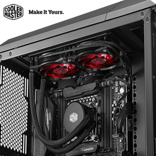 Cooler Master B120/B240 CPU Liquid Cooler 120mm Red LED quiet fan For Intel 1151 1150 2011 2066 and AMD AM4 CPU water cooler