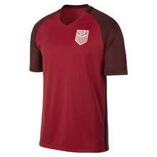 Men's USA Soccer Jerseys Quick-Dry Flexible Short T-shirt Cheap 2017 Third Authentic Vapor Match Team Shirt Red Jersey