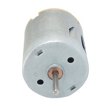 High Quality 8000RPM 9V 68mA High Torque Magnetic Cylindrical Mini DC Motor Silver