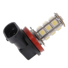 Best Price White H11 H8 18 LED 5050 SMD Car Auto Day Driving Fog Lights Headlight Lamp Bulb DC12V