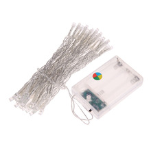 40 LEDs Mini LED String Fairy Lights 4M AA Battery Operated Lights for Christmas New Year Party Festival Decoration
