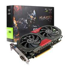 Colorful NVIDIA GeForce GTX iGame 1050 GPU 2GB 128bit Gaming 2048M GDDR5 PCI-E X16 3.0 Video Graphics Card with Two Cooling Fans