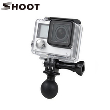 Buy 360 Degree Rotation Mini Ball Head Tripod Adapter Gopro HERO 5 4 3 Xiaomi Yi 4K Mount GoPro Session Accessories for $2.11 in AliExpress store