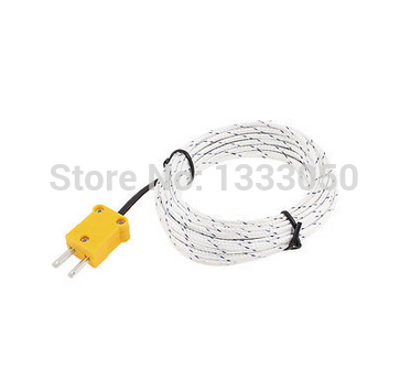Free Shipping 5M Length Cable K Type Thermocouple Temperature Measuring Probe Sensor<br><br>Aliexpress