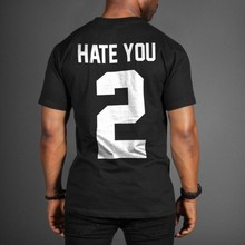 Jay-z free shipping HATERS cotton leisure T-shirt man tshirt euro size short sleeve O neck t-shirts wholesale crime(China)