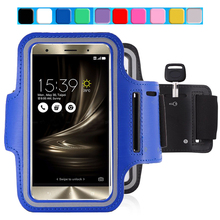 Zenfone 3 Laser Smart Phone Bags Cases for Asus Zenfone 3 Laser Waterproof GYM Workout Sport Arm Band Run Riding Support Case