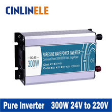 Smart Series Pure Sine Wave Inverter 300W CLP300A-242 DC 24V to AC 220V 300w Surge Power 600W Power Inverter 24V 220V