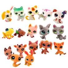 20 PCS 2016 New Lovely Designer 10pcs Littlest Pet Shop Cute Cat Dog Animal Figures Collection Random Child Toy
