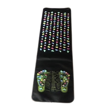 Reflexology Walk Stone Foot Leg Pain Relief Walk Massager Mat Health Care Acupressure Mat Foot Massage Pad for Fitness Exercise(China)