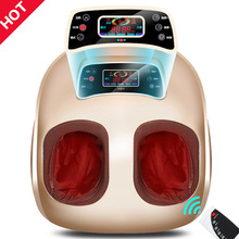 RU Free Shipping Foot Massager Electric Shiatsu Guasha Roller Infrared Foot Massage Machine Relieve Pain Physiotherapy Equipment