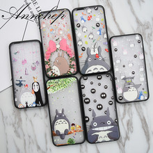 Hot Japan Anime Hayao Miyaz Cute Totoro Case for iPhone 5S SE 6 6S plus cover For iphone X 7 8 Plus phone cases fundas coques(China)