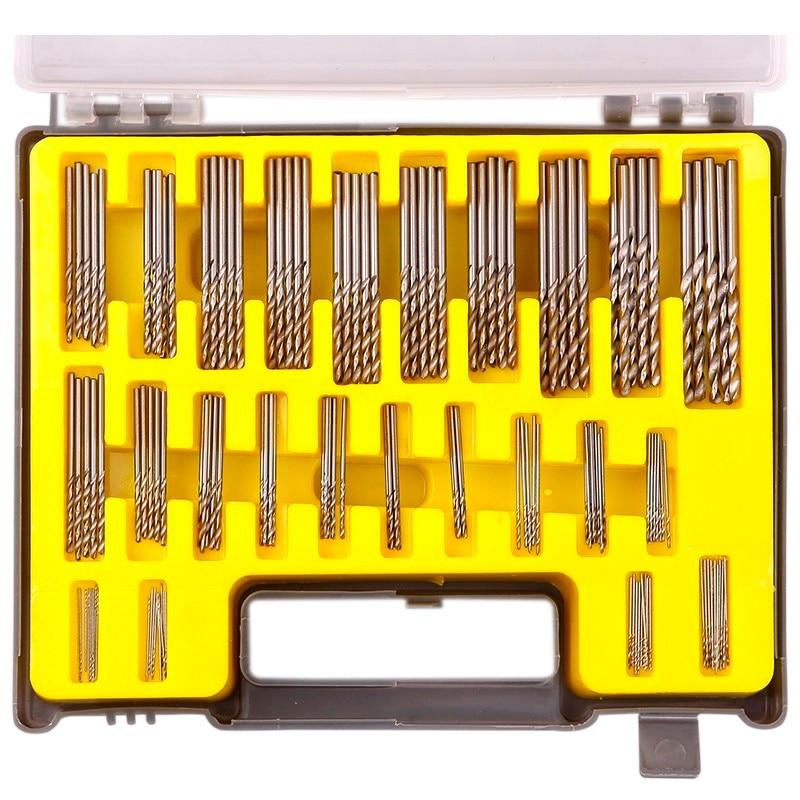 150pcs 0.4-3.2mm Precision High Speed Steel Drill Bit Mini Micro Power Twist Kits Wood Drilling Accessories Tools Set <br><br>Aliexpress