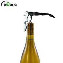 Stainless Steel Red Wine Opener Sea Horse Knife Double Hinged Professional Corkscrew Bottle Opener Waiter Metal Wine Corkscrew