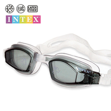Intex Professional Sports Swimming Goggles High Quality Black Blue Pink Anti Fog UV Protection Waterproof Swim Eyewear Glasses(China)