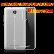 for Xiaomi Redmi Note 3 Pro Special Edition Case TPU Silicone Case Cover for Xiaomi Redmi Note 3 Special Global Version SE 152mm