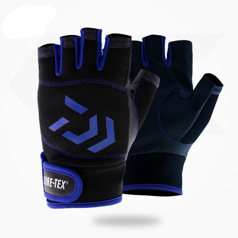 Atmungsaktive 3-Finger-Unisex-Schutzhandschuhe für das Angeln im Freien Super