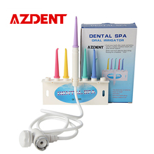 AZDENT Hot Dental Water Floss Oral Irrigator Jet Interdental Brush Tooth Dental Flosser SPA Cleaner Teeth Toothbrush Cleaning(China)