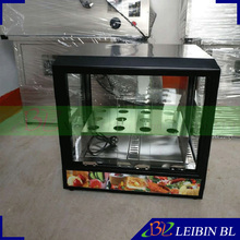 Automatic stainless steel pizza cone display for sale in America(China)