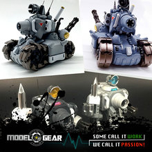 1/35 Video Computer Game Metal Slug Tank Weapon 1 2 Action Figure With Weapons Mini Cute Collection Assemble Model Toys