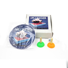 1set (Gimmicks+DVD)Tiny Plunger by Jon Armstrong Plunger The Best Card magic tricks toy Accessories  as seen on tv