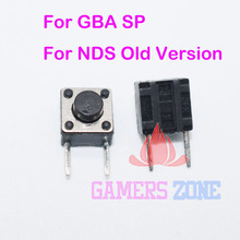 500pcs Replacement Repair For  GBA SP  L / R Buttonss Switch Part for Nintendo DS NDS Old version repair parts
