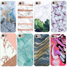Buy Phone Cases Blue Pink gold Marble Hard Apple iphone X 10 Granite Cover iPhone 5 5S SE 6 6S Plus 7 7Plus 8 8Plus for $1.21 in AliExpress store