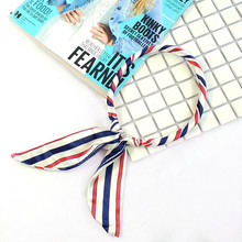 New spring and summer summer Korea style scarf professional neck simple collar wild small scarf