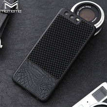 MCMEME HUAWEI P10 Case Cover Huawei P10 Plus Cases Luxury Crocodile Patterm PU Leather & PC Hybrid Carbon Fiber Phone Shell Capa