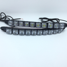 NEW!2*10 LED COB DRL Fog Lights Flexible Silicone Daytime Running Lights Waterproof 10w Super Bright Led Fog Light car styling(China)